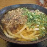 本郷パーキングエリア(下り線)スナックコーナー - 肉うどん 490円