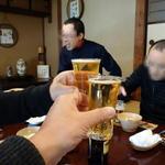 元祖鮭鱒料理 割烹 金大亭 - ビール