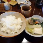 元祖鮭鱒料理 割烹 金大亭 - 元祖「石狩鍋」と ご飯