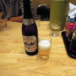 ぎょうざの満洲 - 中瓶ビール432円