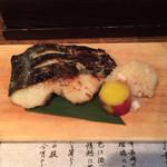 33423967 - 吟醸酒粕 漬魚焼(鰆)