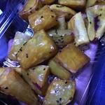 甘藷生駒 - 大学芋 蜜の甘さ控えめで芋の甘さは強い。ある意味バランスのとれた逸品です。