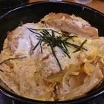 松乃家 - ロースかつ丼