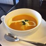 一番館 - パンプキンなんちゃらスープ