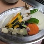 統一館 - 野菜焼き
