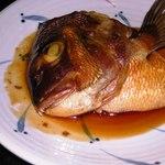 みさきや - 真鯛のかぶと煮