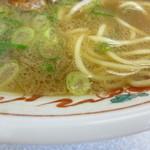 本家 第一旭  - 麺とスープ('14.11)