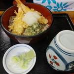 33428300 - 海老天おろし蕎麦 750円 【 2014年12月 】