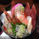 Kogureshokudou - 魚たっぷり海鮮丼、金曜土曜は700円。