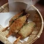 伊勢家 - オクラの肉詰め 320円♪
