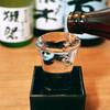 こぼれ日本酒