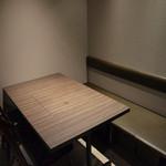 武蔵 - テーブル席