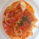 33433315 - モッツァレラチーズとトマトのパスタ