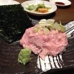 深川ふぁみりー酒場 なんでや - びっくりネギトロ寿司