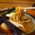 33435624 - 醤油ラーメン(麺は森住製麺さん)