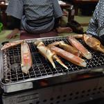 山村 - 焼き蟹