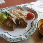 松魚亭 - ステーキ