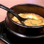 肉匠松屋 - おぼろ豆腐チゲスープ