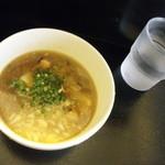 麺処グロース - スープ&お冷
