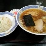 駅前食堂 - 炒飯セット\650