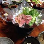 山村 - 朝食 豚すき