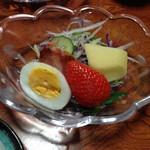 山村 - 朝食 サラダ