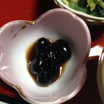 山村 - 朝食 黒豆