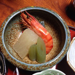 山村 - 朝食炊き合わせ