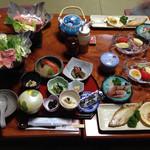 山村 - 朝食です!