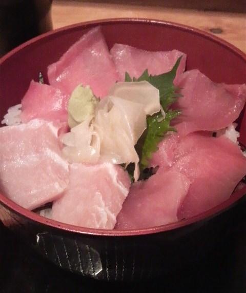 漁十八番 - 鮪丼\500