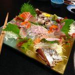 寿司割烹 魚徳 - 刺身盛り合わせ