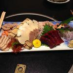 寿司割烹 魚徳 - 鯨の刺身
