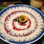 寿司割烹 魚徳 - 鯨のしゃぶしゃぶ