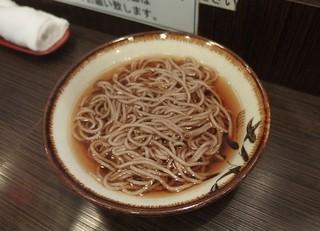 美味しい亭 名掛丁店 - かけそば150円!