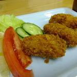 四ツ木製麺所 - 牡蠣フライ