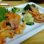 四ツ木製麺所 - 赤貝