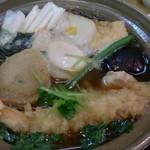 松風 - 2014.12 鍋焼きうどん