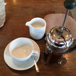 aere cafe - フレンチドリップ