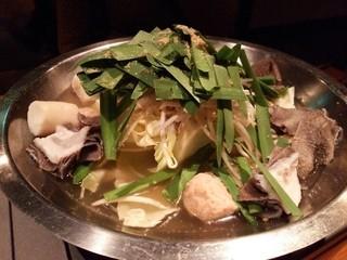 國廣 芝大門店 - モツ鍋
