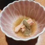川口屋本館 - 温泉付きかにコース(@7,560円)の小鉢