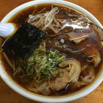 33443708 - ワンタンメン(辛味)750円(2014年12月)