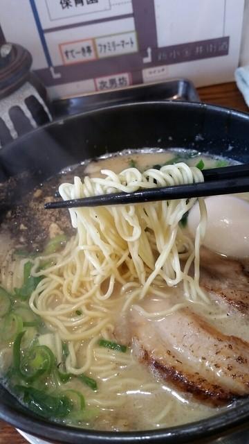 らーめん 次男坊 - 極細麺