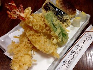 十和田 すしや通り店 - 天然えび天婦羅 ¥1300