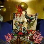 滝本イン - 第一滝本館のからくり時計は、滝本インに宿泊しても見に行く事が出来る