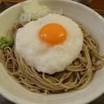 とおる蕎麦 - 山かけ(中)1000円