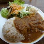カフェ ジンタ - チキンカレー800円