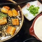 トロロ屋 - 鰻茶とろろランチ(自然薯)1,630円