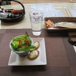 33448107 - ミニ前菜(ポテトサラダ)