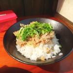 麺匠 文蔵 - チャーシューライス