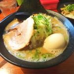 麺匠 文蔵 - 安養寺味噌ラーメンと味玉